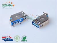 usb 3.0母座USB 3.0 AF DIF 侧插式
