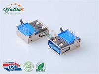 USB3.0母座USB 3.0 AF 90度DIP