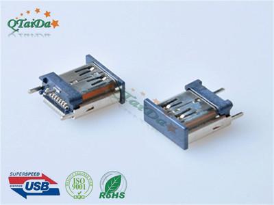 HDMI 180无耳立式H15.0加高带防尘盖