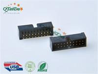 3.0 IDC 20P MALE 180度插板 A款
