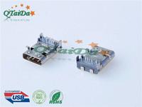 USB Type-CF 11.95前插后贴板上母座