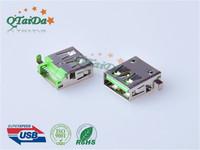 USB 3.0 AF 沉板 DIP 方脚 无卷边