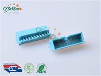 usb3.0连接器生产厂家 3.0 IDC 20P MALE 180度焊线 A款 蓝色