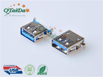 USB3.0母座沉板母座USB 3.0 AF 沉板